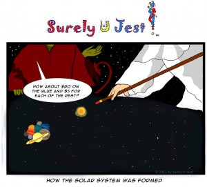 How the Solar System was Formed